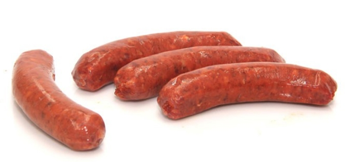Beef Red Thai Chilli Sausages x6 500g